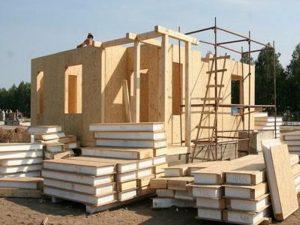 Строительство одноэтажного дома из СИП-панелей