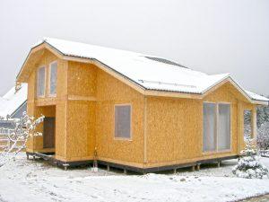 Одноэтажное строительство из СИП-панелей