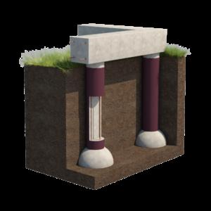виды фундаментов для строительства