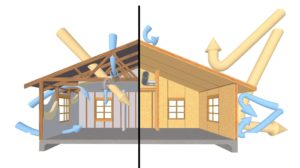 вентиляция дома из СИП-панелей